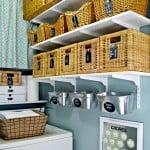 Organized Laundry Room Reveal {small Home/ BIG Ideas}