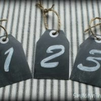 {small Home/ BIG Ideas Series}: Solution #1 Label your baskets and bins with chalkboard tags