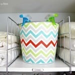 {Mod Podge Madness}: How to Decoupage a Galvanized Pail With Fabric