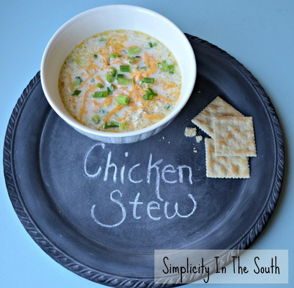 simple southern chicken stew