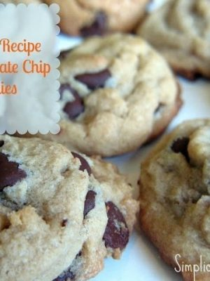 The No-Fail Recipe for Chocolate Chip Cookies