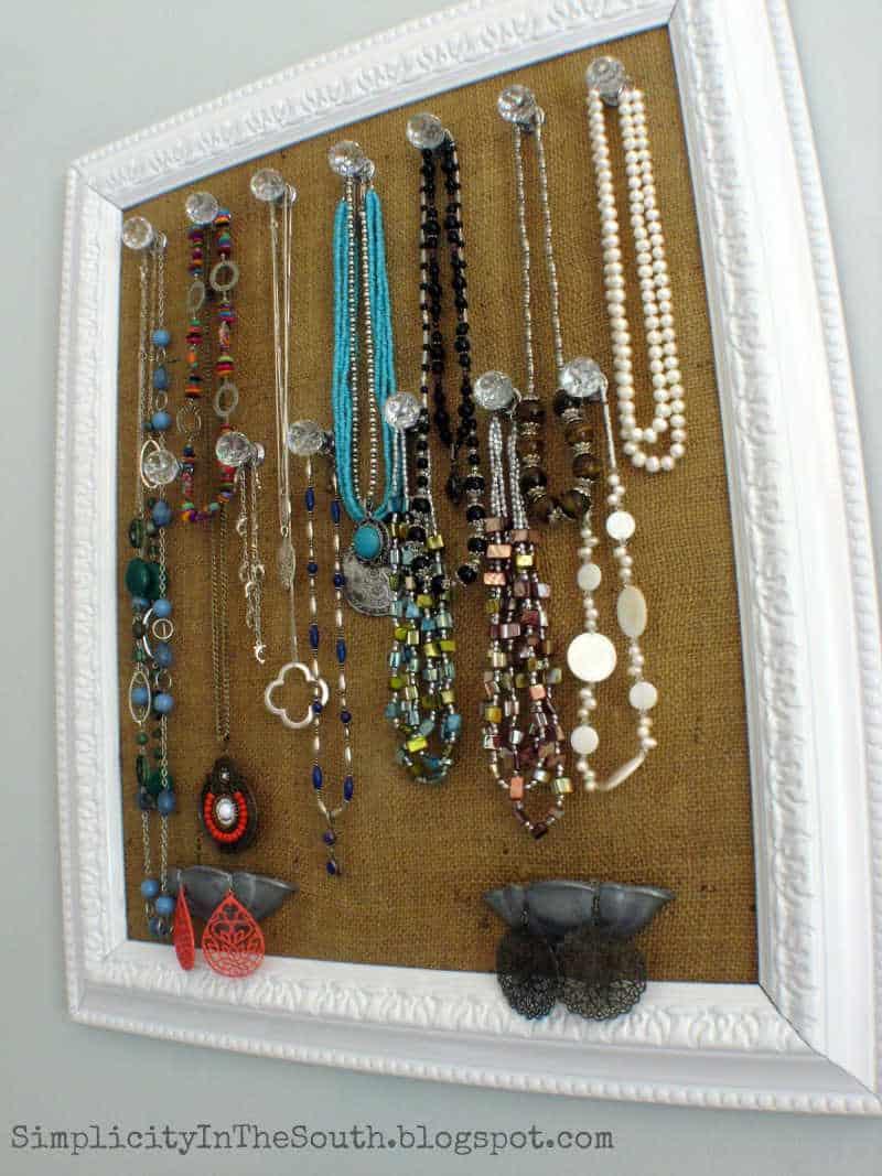 diy jewelry holder