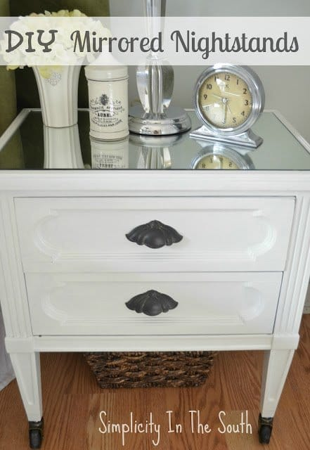 How A Little DIY Turned My So-So Nightstands Into So Spectacular