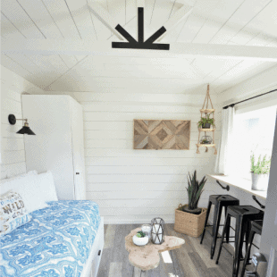 the modern farmhouse cottage guest house