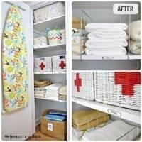 Linen Closet Organization: small home/ BIG IDEAS