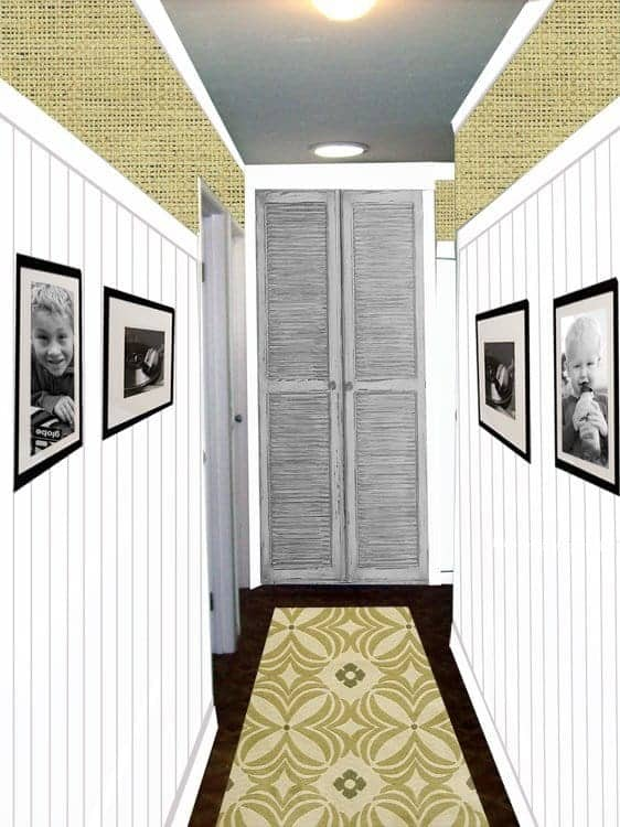 Hallway inspiration from The Lettered Cottage