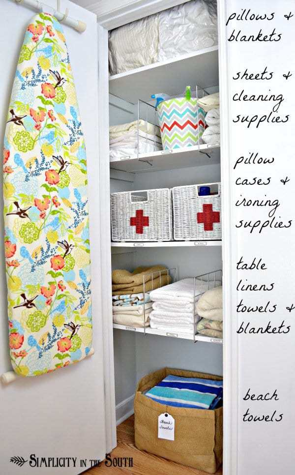 Linen Closet Organization Ideas For The Small Home Challenged. This Post  Shares Tips On How