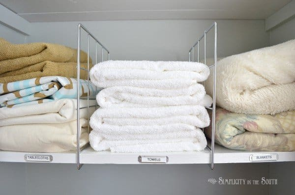 Linen Closet Organization Ideas. Labeling Shelves. Linen Closet  Organization Ideas. Labeling Shelves