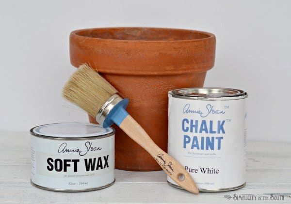 supplies for aging terra cotta pots