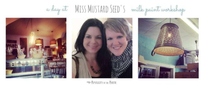 Miss Mustard Seed Paint Workshop