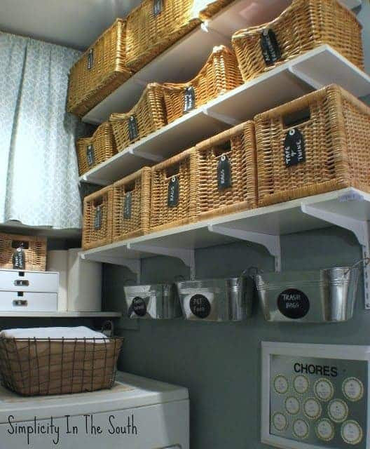 laundry room Simplicity in the South