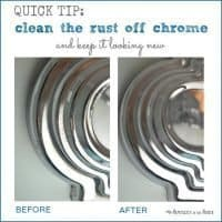 Simple Cleaning Trick: How to Remove Rust From Chrome in the Bathroom