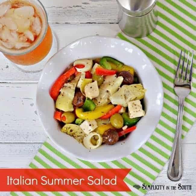 Italian Summer Salad.