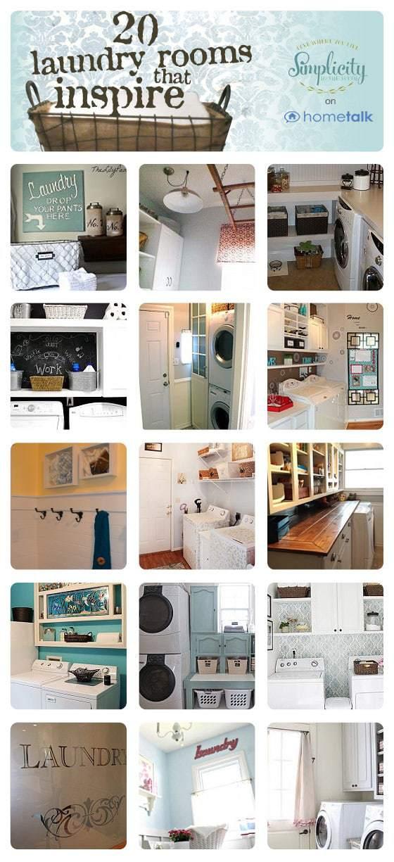 20 inspiring laundry rooms