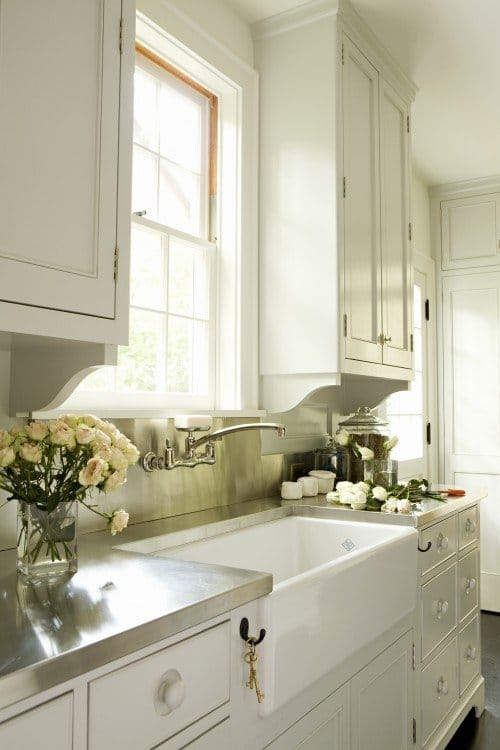 stainless steel countertops tim barber interior design