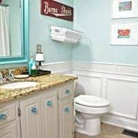 Vintage Inspired Guest Bathroom Reveal