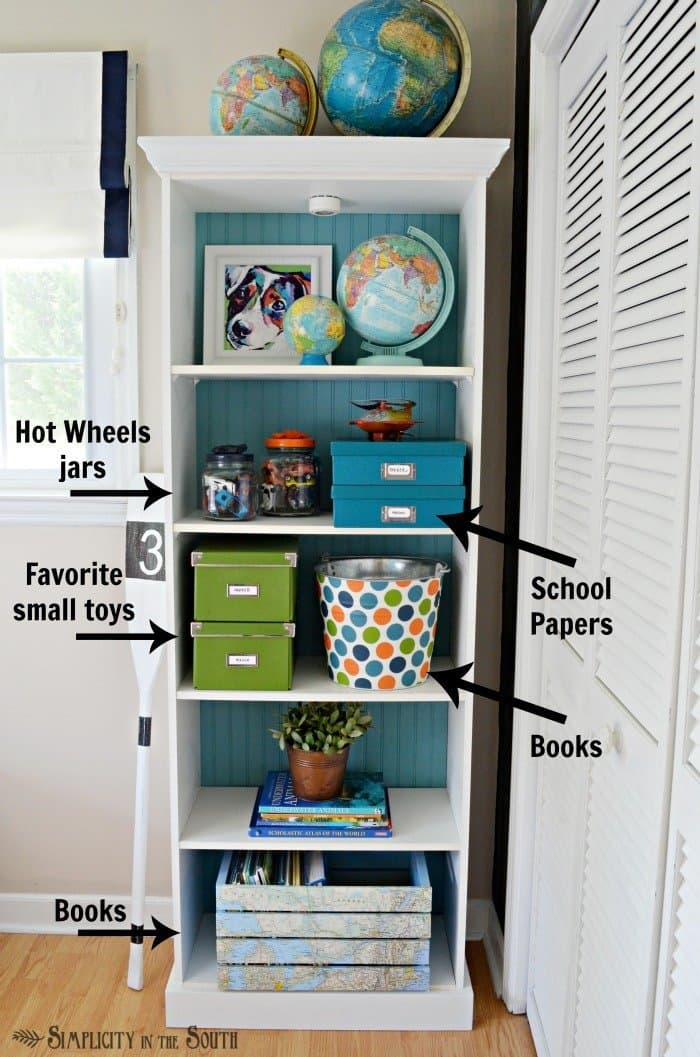 Kids room storage ideas