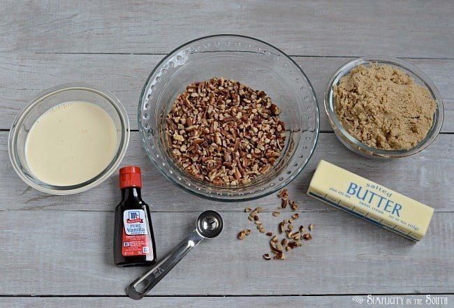 Apple Dapple caramel-pecan glaze ingredients
