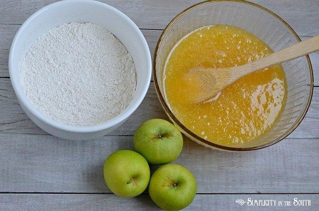Recipe for Apple Dapple Cake