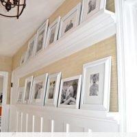 DIY Gallery Wall Shelves That Even a Beginner Carpenter Could Make