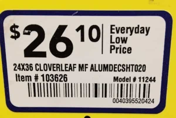 item number for aluminum radiator screen
