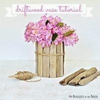 Driftwood Vase Tutorial | DIY Coastal Decor