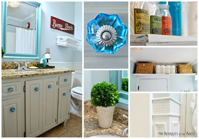 Vintage Inspired Guest Bathroom Reveal