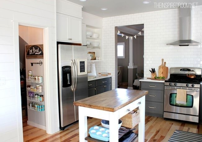 Kitchen remodel by The Inspired Room