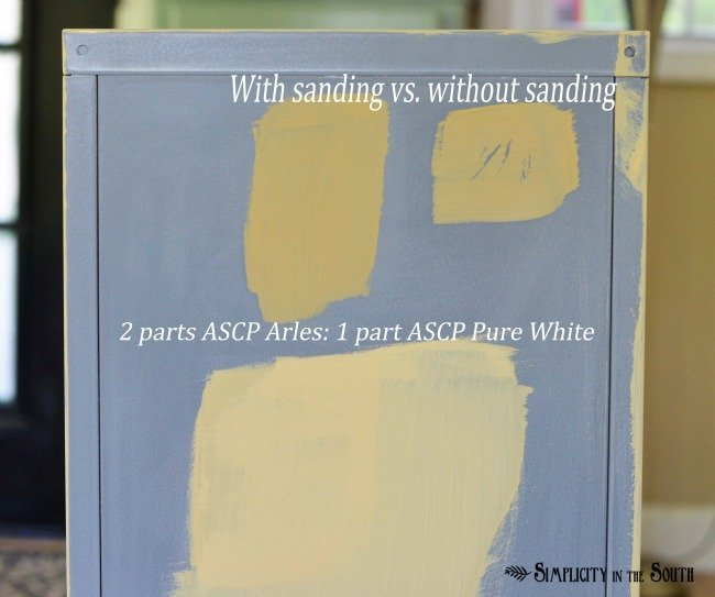 How to paint on metal with Annie Sloan Chalk Paint