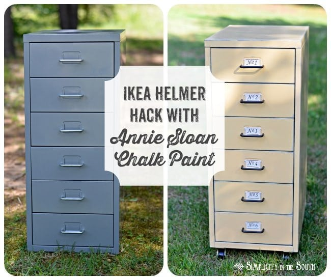 Ikea Helmer Hack with Annie Sloan Chalk Paint