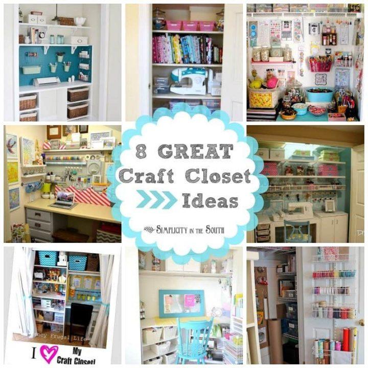 8 Great Craft Closets: Organization Ideas