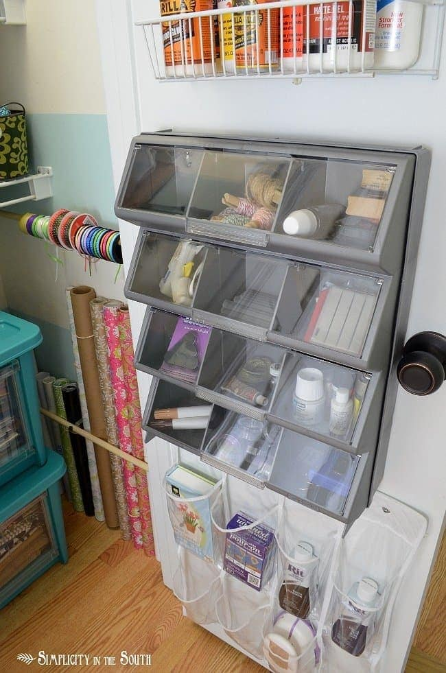 Craft closet storage ideas