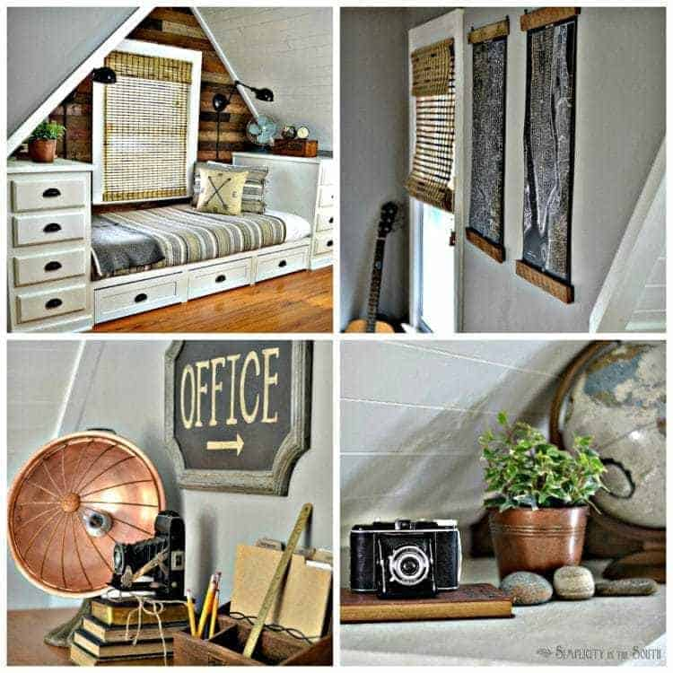 Rustic & Industrial Dormer Bedroom Reveal