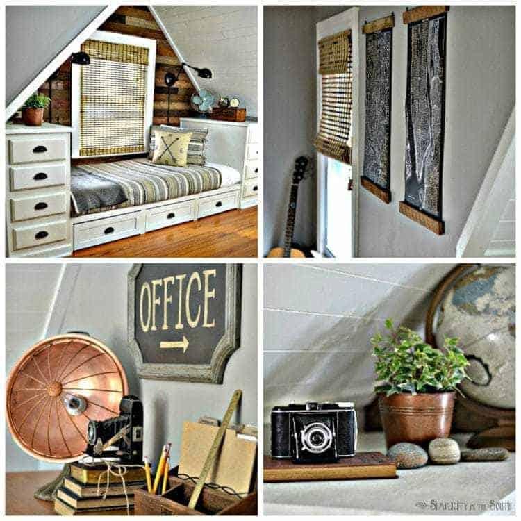 Rustic & Industrial Dormer Bedroom Reveal