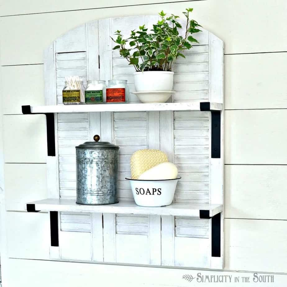 Catalog Copycat: Ballard Designs Inspired Shutter Shelf