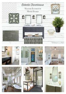 Eclectic farmhouse bathroom ideas