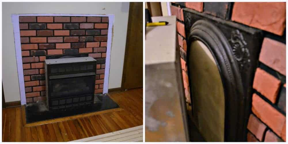 How to DIY a gas fireplace surround