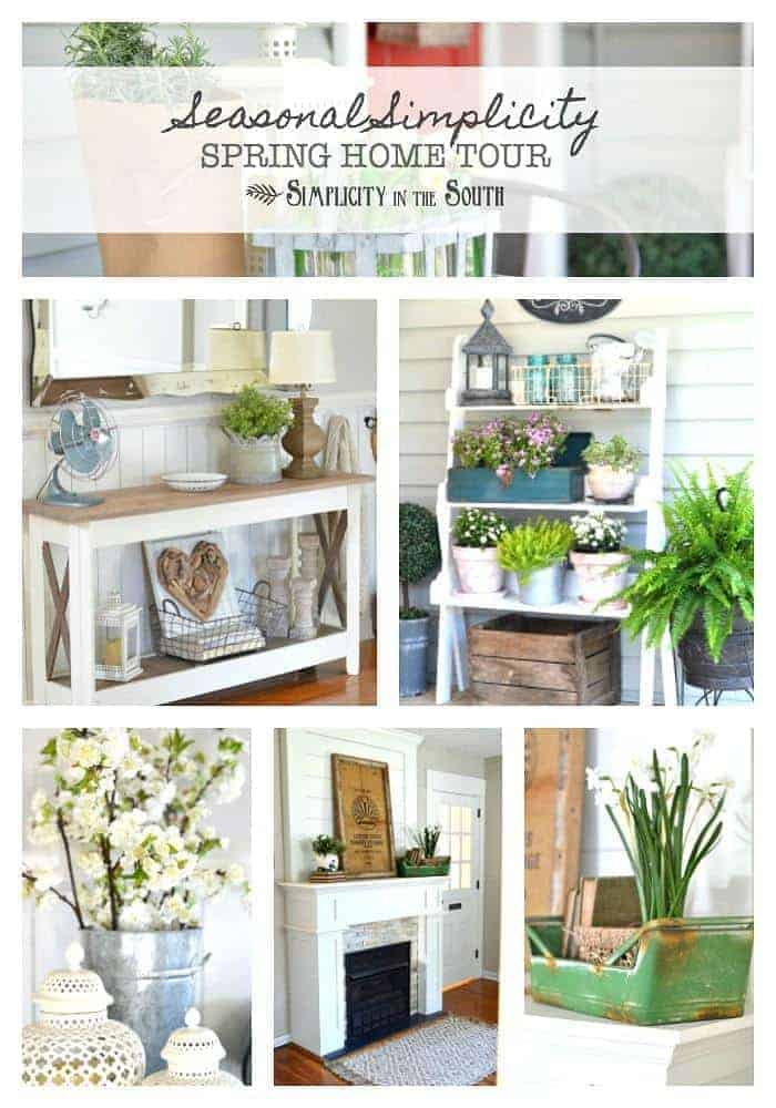 Seasonal Simplicity Spring Home Tour 2017