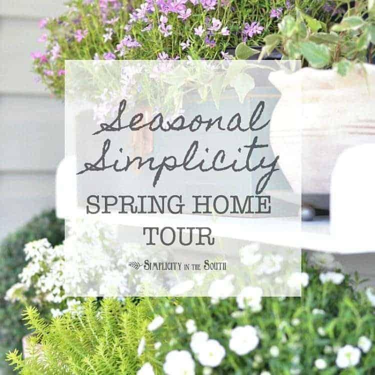 Seasonal Simplicity Spring Home Tour 2017 1