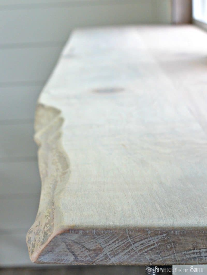 Here's a simple way to join boards together using basic tools. You don't need to buy a pocket hole jig or a biscuit plate joiner. We used this method to make our live edge wood bar.