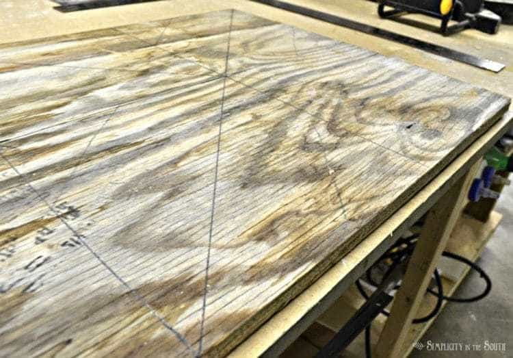 DIY Reclaimed Wood Sliding TV Cover: Now You See It. Now You Don't 7