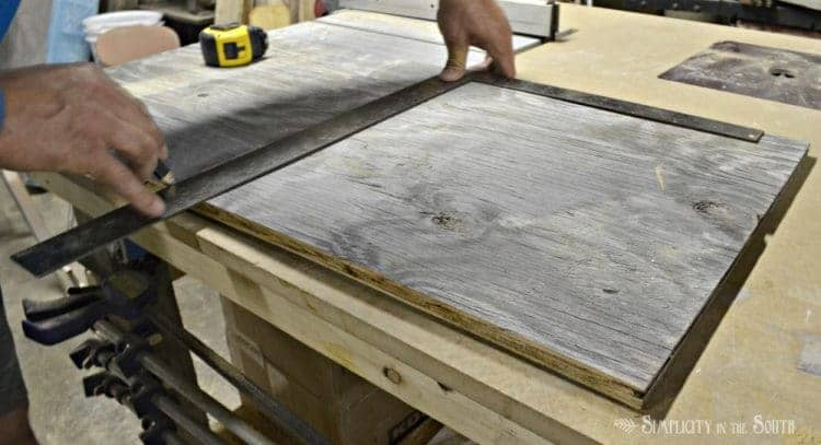 DIY Reclaimed Wood Sliding TV Cover: Now You See It. Now You Don't 6