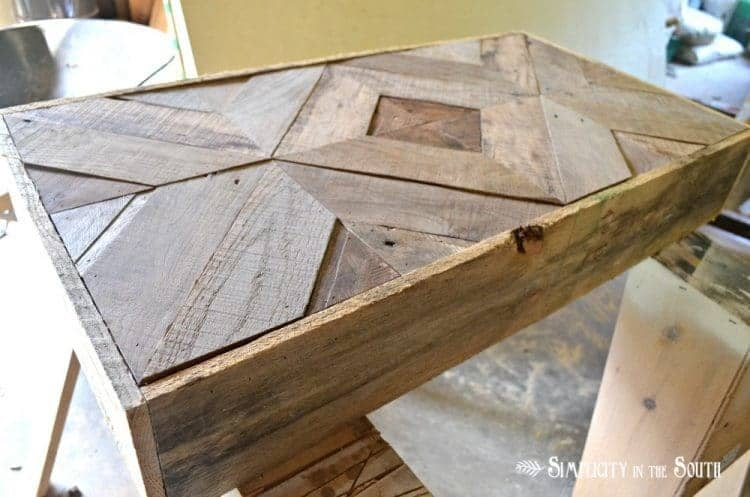 DIY Reclaimed Wood Sliding TV Cover: Now You See It. Now You Don't 14