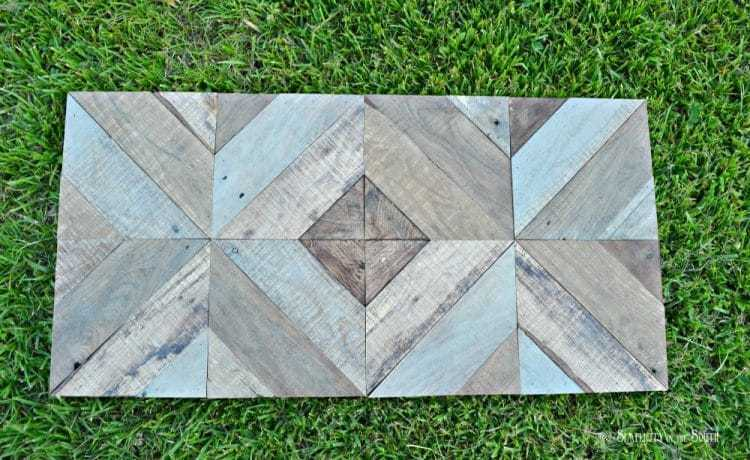 DIY Reclaimed Wood Sliding TV Cover: Now You See It. Now You Don't 12