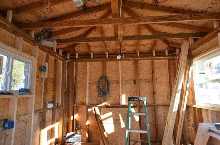 rewiring the guest cottage