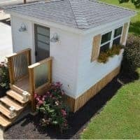 What a Difference a Weekend Makes: Exterior Improvements to The Cottage Shed Guest House