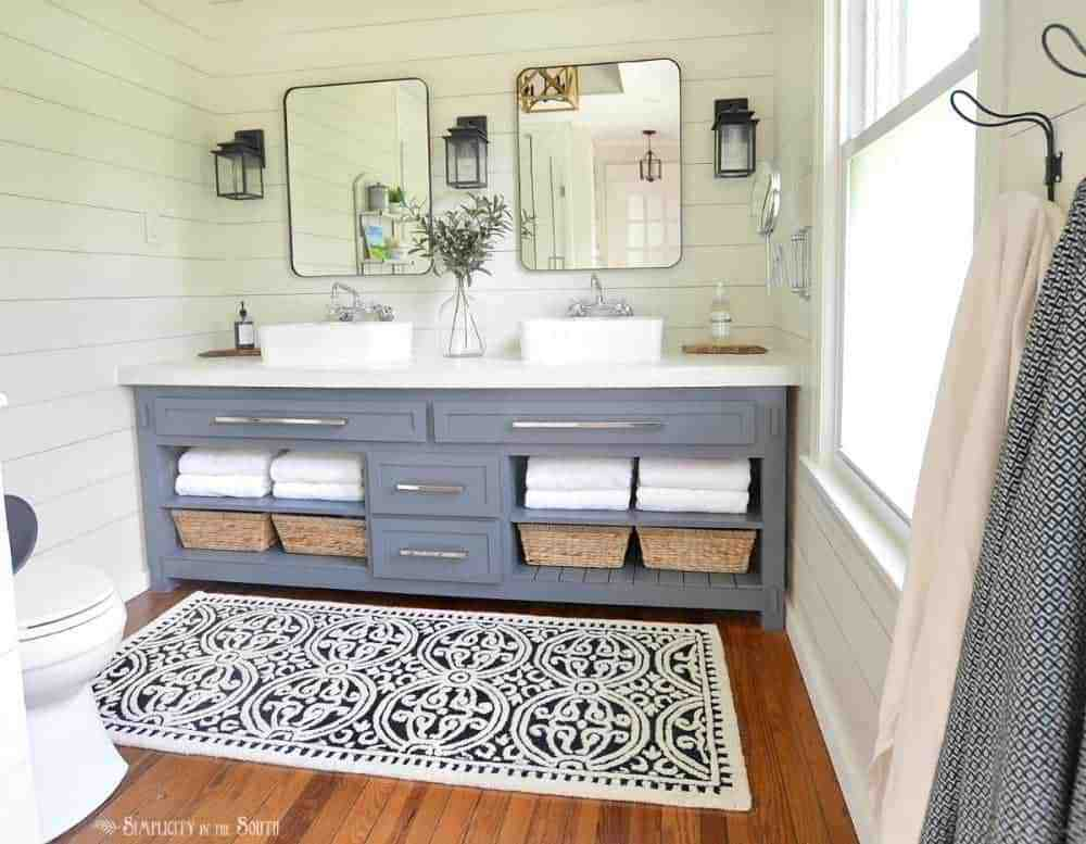 Master Bathroom Paint Colors Budget Source List Simplicity In The South