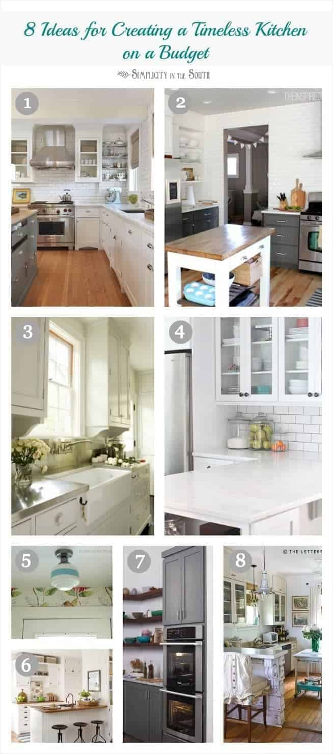 8 tips for creating a timeless dream kitchen on a budget