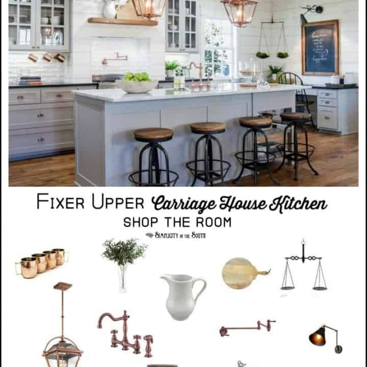 Fixer Upper Carriage House Kitchen Shop The Room