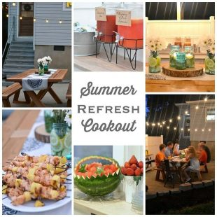 A Summer Refresh and Relax Cookout
